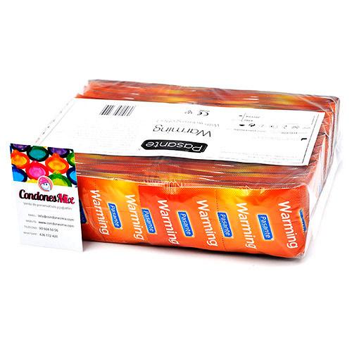 . Pasante Preservativos de efecto calor, forma recta para mayor agarre. Con estrías por todo el condón, perfecto para estimulación femenina. Preservativos efecto Calor .