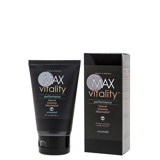 . Max vitality performance sexual stamina treatment 60 ml .