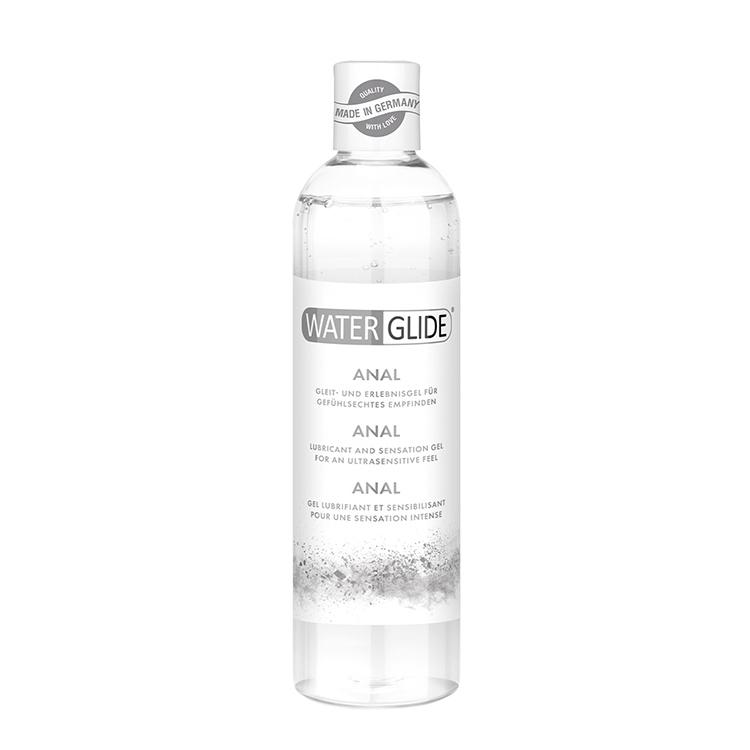 . Waterglide Lubricante para relaciones anales. Con mayor consistencia y propiedades ultra deslizantes. Base acuosa. Anal 150 ml .