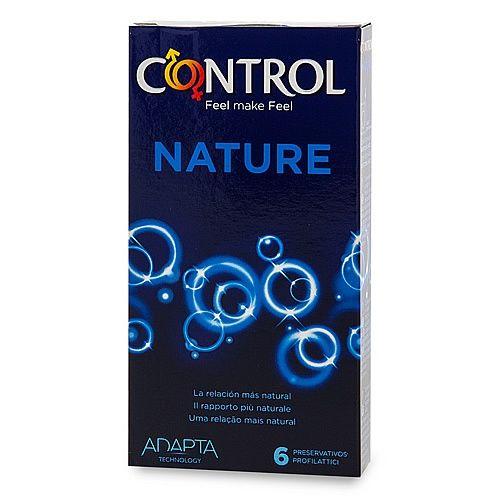 . Control El preservativo clásico de control. Si buscas un condón natural y tradicional sin añadidos, aquí tienes tu modelo perfecto. Condones Control Nature 6 uds .