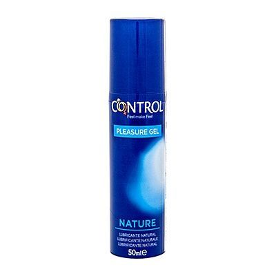 . Control Lubricante natural control 50 ml. Fabricado con productos naturales, ideal para pieles sensibles. Base acuosa. Natural 50 ml .