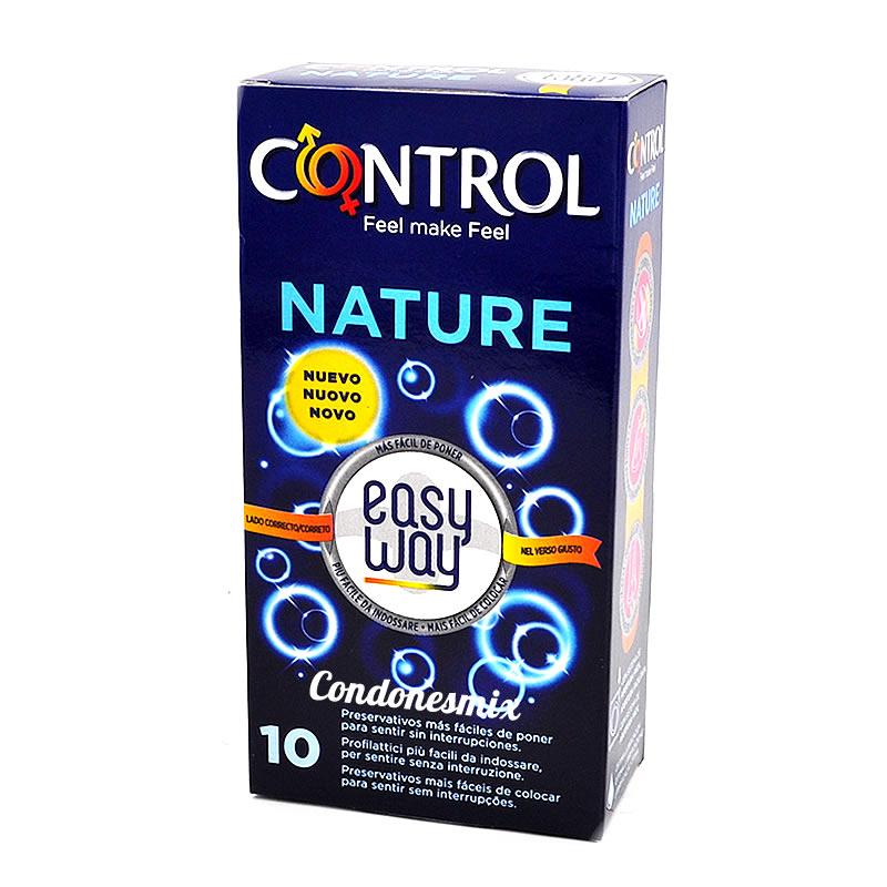. Control Nuevo Control Suave tira colocada para indicarte el lado correcto a demás de desenrollado fácil. El método más fácil de poner. Natural Easy Way 10 uds .