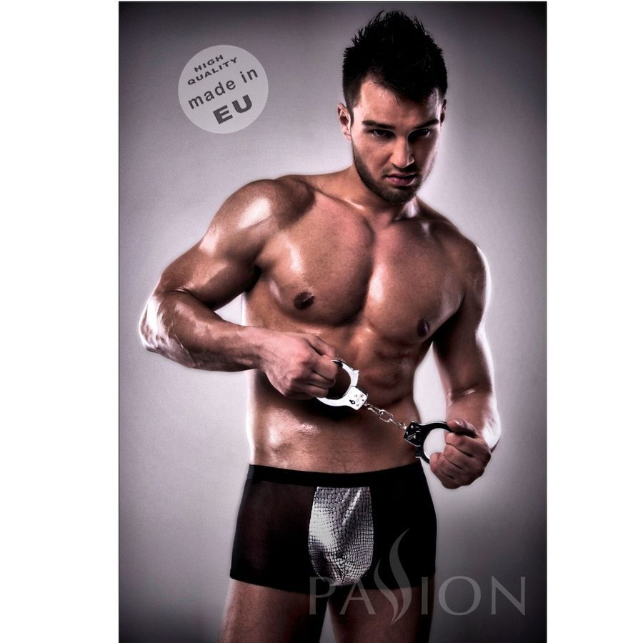 Passion Men passion 002 men metal black lingerie l/ Passion 002 Men Metal Black