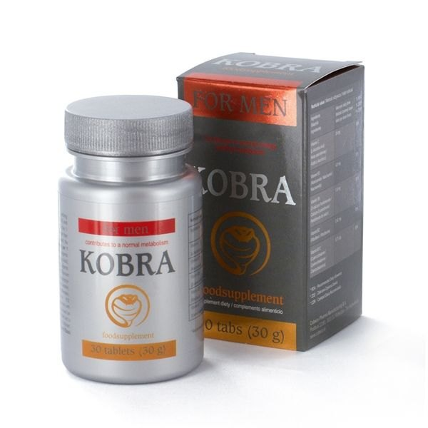 . Kobra for men 30 tabs .