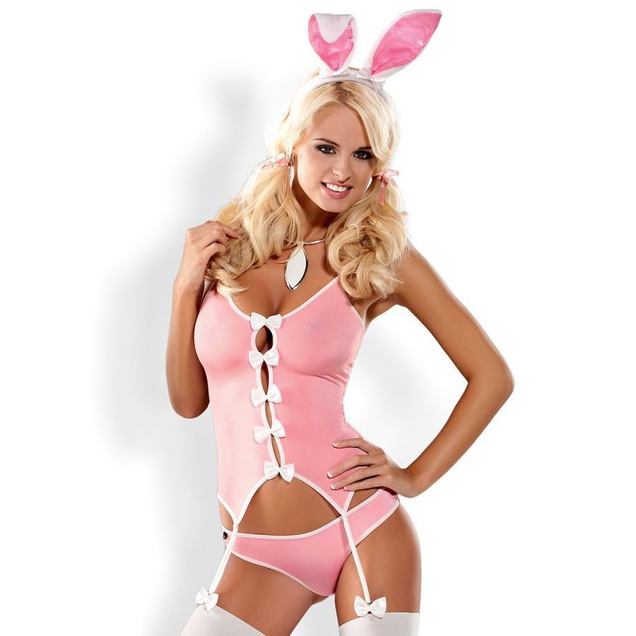 . CM Obsessive disfraz conejita bunny suit perfecto para días especiales D-199678 Disfraz conejita bunny suit .