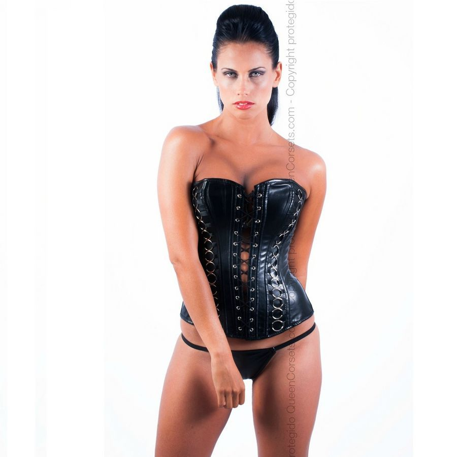 . Queen lingerie Queen corsets ónix leather black disponible en varias tallas, encuetra la tuya y disfruta de una noche distinta Queen corsets ónix leather negro .