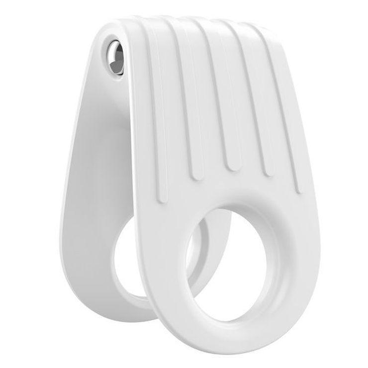 . B12 anillo vibrador blanco .