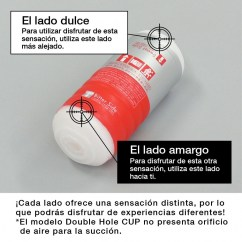Tenga Un juguete especialmente creado para el placer de la masturbación masculina, modelo de dos penetraciones. Double Hole CUP