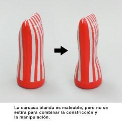 Tenga Anillo móvil ajustable con tripe protuberancia. Aprieta a tu gusto, disfruta de nuevas experiencias XL: Soft tube CUP U.S.