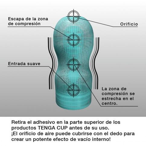 . Tenga Con válvula de vacío que regula la succión, produce una experiencia similar a la de una felación. Original Vacuum CUP .
