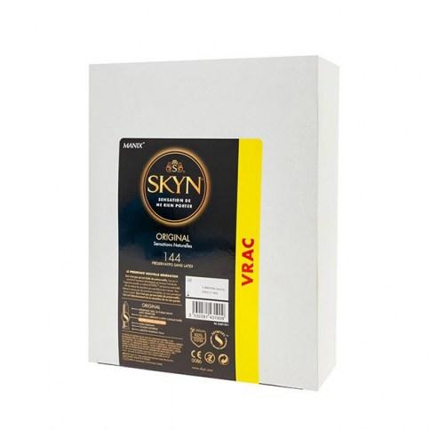 Manix Mates Preservativo sin látex con mejor aceptación del mercado, con solo 0,020mm. Ultra fino. Mas fino que cualquier condón con látex. Skyn Ultrafino (sin látex) 144 uds