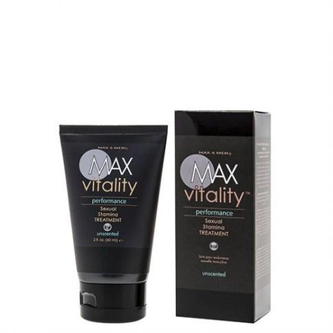 Max vitality performance sexual stamina treatment 60 ml