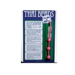 CM Estas bolas thailandesas, retiradas en el momento del orgasmo lo intensifican fuertemente. Es unisex. Thai Beads
