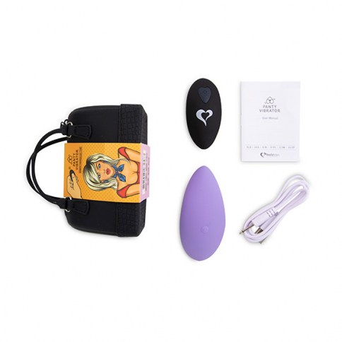 Panty Vibe Remote Controlled Vibrator Purple 0