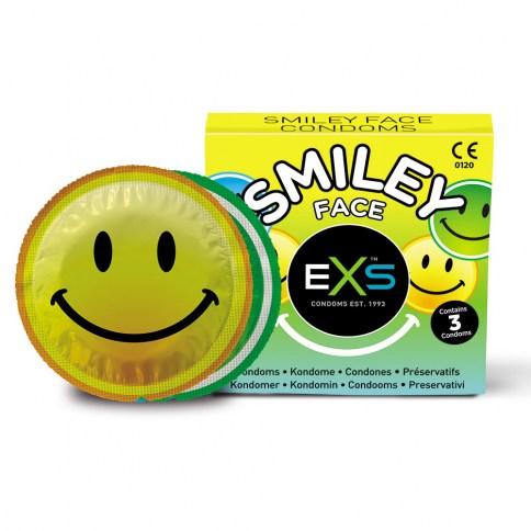 EXS Totalmente texturizado con pequeños puntos en la superficie Smiley