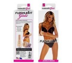Fleshlight Réplica vaginal de Jessica Drake. Masturbador con forma de vagina de textura apretada y estrecha. Lotus Jessica Drake