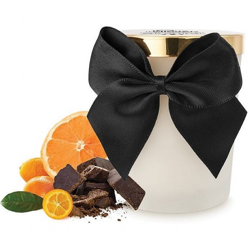 . Bijoux Indiscrets Vela de masaje con aroma a chocolate Melt My Heart Dark Chocolate Candle .