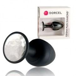 Marc Dorcel Plug anal con diamante en la base y extremos curvados. Totalmente ergonómico y suave. Geisha plug Diamond