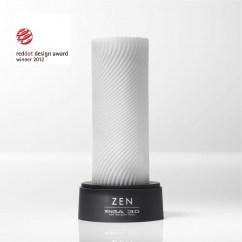 Tenga Tiene una superficie de relieve con finas nervaduras, los surcos que lleva su diseño se entrelazan creando una sensación envolvente y de caricia 3D Zen