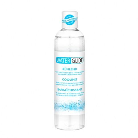 Waterglide Lubricante de efecto calor, ideal para intensificar la sensibilidad en las zonas íntimas. Base acuosa no deja manchas. Efecto Calor 150 ml