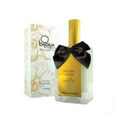 Bijoux Indiscrets 70 ml de lubricante con gel natural. Lubricación de larga duración, frasco de cristal con dosificador. Lubricante Agua Natural