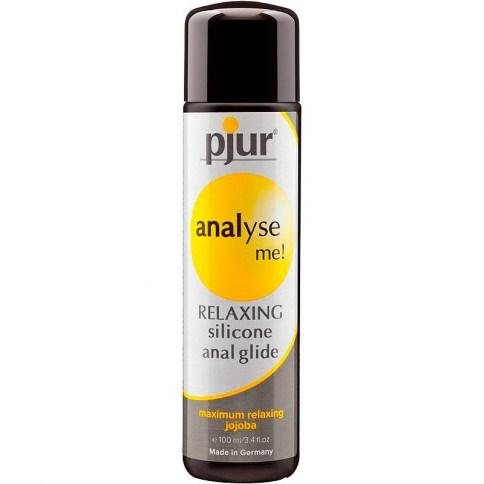 Pjur Lubricante para el sexo anal. Con propiedades ultra deslizantes, será ideal si buscas prolongar el efecto delo lubricante. Analyse Me 100 ml