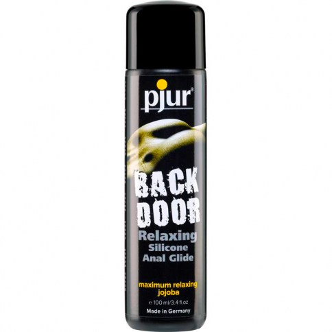 Pjur Lubricante de Pjur con base de silicona. Lubricantes con más espesor y duración, ideales para relaciones anales. Backdoor Lubricante 100 ml.