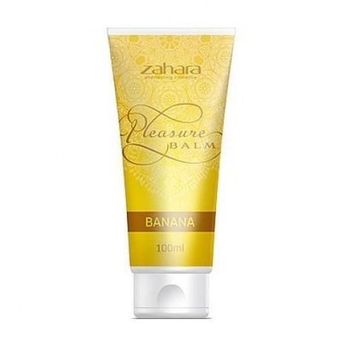 Zahara Balsamo en gel diseñado para aumentar las sensaciones e intensificar el placer. Balsamo de Placer Banana
