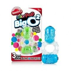 Screaming O El anillo Big O 2 ayuda a encontrar el esperado orgasmo simultáneo, el que todas las parejas buscan gracias a sus dos balas vibradoras. ColorPop Big O2
