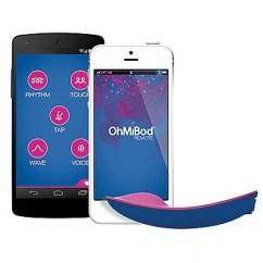 Ohmibod Vibrador para llegar como una compresa, solo que este, vibra y de que forma!Úsalo a distancia en cualquier parte. blueMotion Nex 1