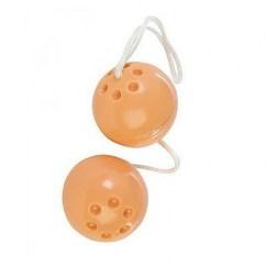 CM Bolas de suave vinilo, con a su vez otras bolas en su interior, estimulando zonas erógenas. Bolas Chinas (Goma)
