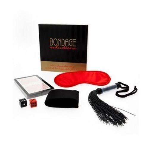 Keepher Games Un juego con 36 ideas para poner en práctica el bondage. Bondage Seductions