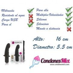 Marc Dorcel Mini vibrador con base más ancha para que haga de tope, recomendado para uso anal especialmente. Mini Lover