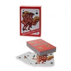CM Juego de cartas con dibujos de posturas del Kamasutra estilo comic Poker Kamasutra