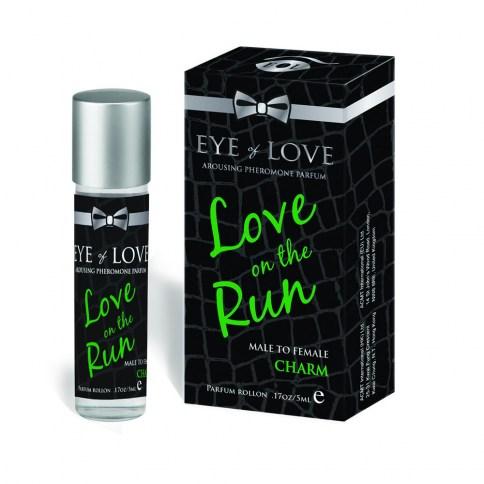 Eye of Love De hombre para mujer. Este perfume conseguirá sin esfuerzo que ella te encuentre irresistible con esta mezcla penetrante el aroma penetrante. Charm Mini Rollon Feromonas 5 ml