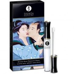 Shunga Brillo labial con aroma de Agua de Coco, perfecto para excitar a tu pareja aplicando un poco en zonas íntimas. Divino placer oral Coco