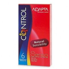 Control Condones para una mayor sensibilidad. Si necesitas sentir más en las relaciones, este preservativo te proporcionará la sensación piel con piel. Condones Control Senso 6 uds