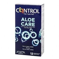 Control Control Aloe Care es un preservativo con Aloe Vera (10%). Cuida, y siente más en tus relaciones. Si tienes tendencias a infecciones, este es tu preservativo. Aloe Vera 12 uds