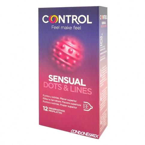 Control Promo: 2 finissimo gratis. Con lo más novedoso en estimulación, gracias a sus puntos y estrías. Especializados en adaptarse a ti perfectamente Touch & Feel 12 uds + 2 gratis