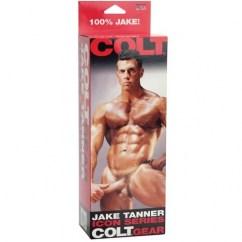 California Exotic El molde original de Jake Tanner tiene un diseño de pene recto con testículos. Jake Tanner