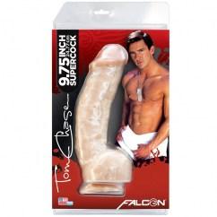 Falcon Consolador realístico moldeado a mano, una réplica perfecta de Tom Chase Tom Chase