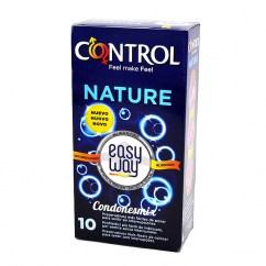 Control Nuevo Control Suave tira colocada para indicarte el lado correcto a demás de desenrollado fácil. El método más fácil de poner. Natural Easy Way 10 uds