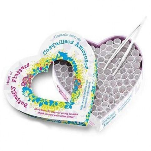 Moodz Divertido juego de pareja, con mas de 100 desafíos, saca tu lado mas jugueton Corazón cosquilleos de amor