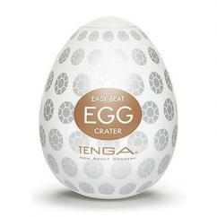 Tenga 6 potentes protuberancias en su interior que brindan una fuerte estimulación Tenga Egg Cráter