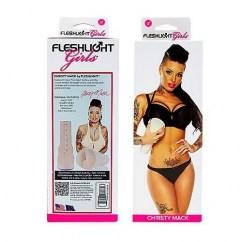 Fleshlight Réplica anal de Christy Mack. Altamente real, su textura tan parecida a la piel te sorprenderá. Forbidden Christy Mack