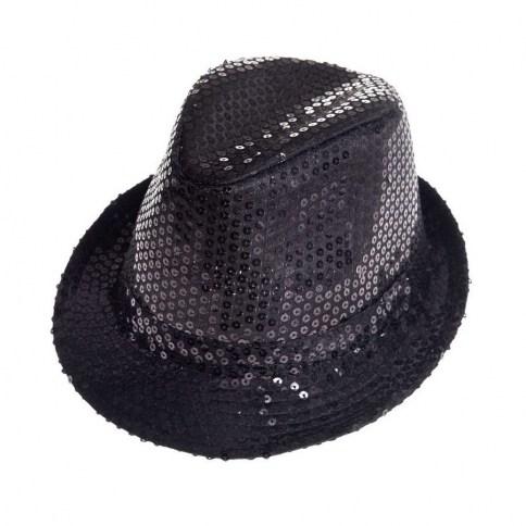 203 Aliv sombrero con lentejuelas negro 1