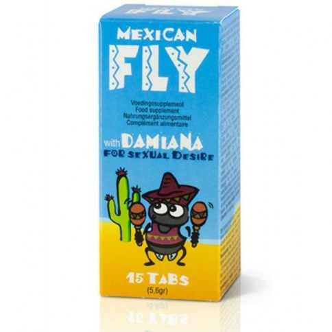 123 Mexican fly 15 caps 1