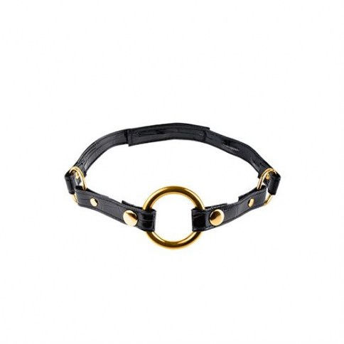 39 O-Ring Gag Black 1