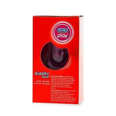 Durex Anillo vibrador diseñado para estimular la zona clitoriana de una forma única y divertida Play Diablillo