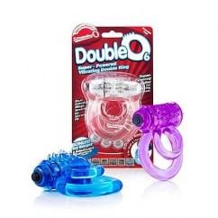 Screaming O El DoubleO 6 anillo vibrador erección ofrece dos anillos especialmente posicionados para un ajuste extra seguro y potenciar la erección. The Doble O 6